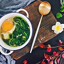 养生益母草鸡蛋汤
