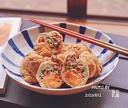 日式鸡蛋福袋煮的做法