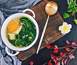 养生益母草鸡蛋汤的做法