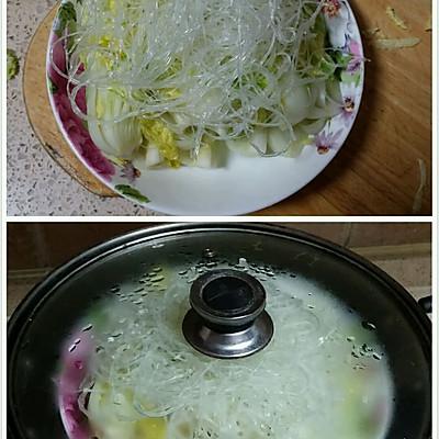 剁椒粉丝娃娃菜的做法 步骤3