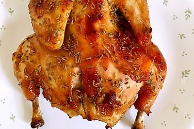 果味黑胡椒孜然烤鸡