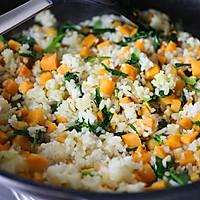 红薯菠菜糙米饭的做法图解6