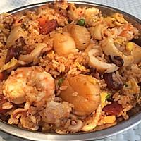 海鲜炒饭的做法图解4