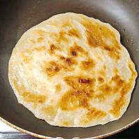 手抓饼 -- 营养又可消耗剩菜 #10分钟早餐大挑战#的做法图解4