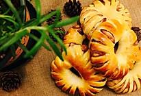 豆沙圈面包(附手揉手套膜)的做法