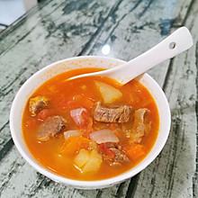 番茄牛腩---一碗心意满满的汤