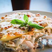 【芸芸小厨】意大利海鲜千层面——层叠的美味