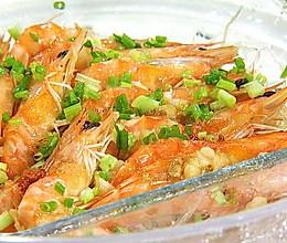 蒜蓉蒸虾,《茜你一顿饭》明星独家美味已上线的做法