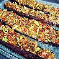 蒜香烤茄子~超美味