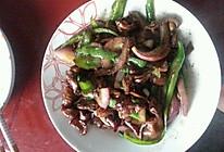 尖椒炒猪大肠的做法