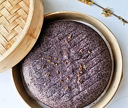 好吃不上火,蒸出来的黑米糕的做法
