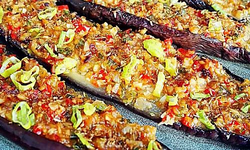 蒜香烤茄子~超美味的做法