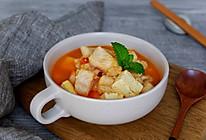 番茄龙利鱼豆腐汤的做法