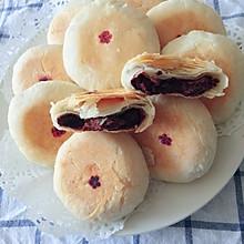 白皮月饼,也叫白皮酥,白皮点心(小时候的味道花生油版)