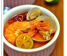 晒下豆果第一单—冬阴功汤的做法
