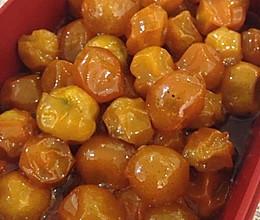 蜜渍金桔的做法