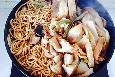 铁锅焖面(扁豆焖面)