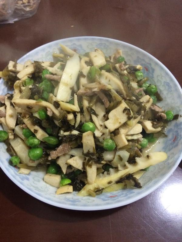雪菜炒笋的做法