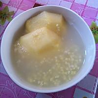 小米苹果粥的做法图解2