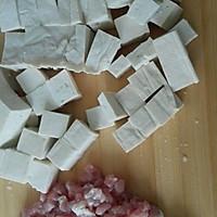 肉末烧豆腐盖浇饭的做法图解1