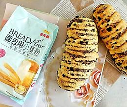 #爱好组-高筋#奥利奥甜软面包的做法