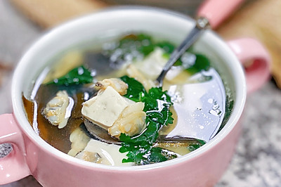 低脂高蛋白花甲豆腐汤