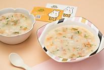 虾皮疙瘩汤的做法