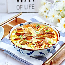 #餐桌上的春日限定#飞蛤豆腐鸡蛋羹