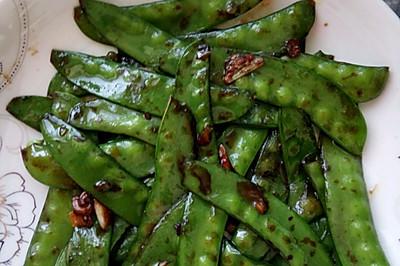 蒜炒荷兰豆