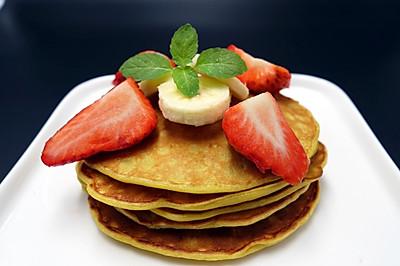 香蕉松餅#急速早餐#