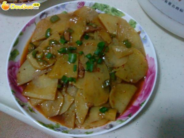 -->鱼香肉丝烧土豆的做法