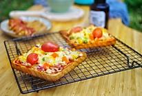鲜虾培根吐司披萨的做法