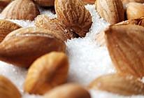 盐烤杏仁的做法