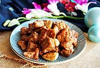 蒜子黑胡椒牛肉粒的做法