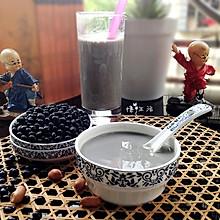 喝出健康---芝麻黑豆浆