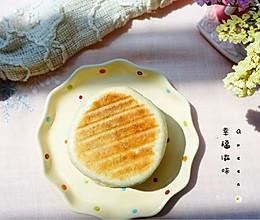 #美食视频挑战赛# 快手豆沙饼(电饼铛版)早餐不用愁的做法