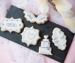 婚礼糖霜饼干的做法