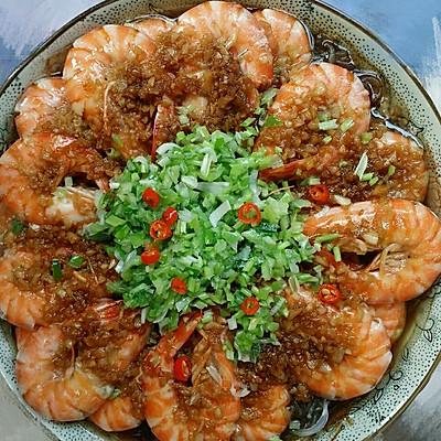 蒜蓉粉丝基围虾