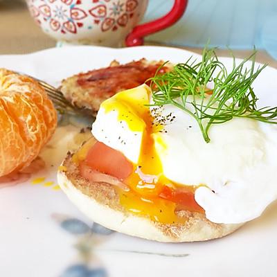班尼迪克蛋的早餐