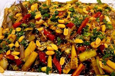 烤梭边鱼(泡椒味)