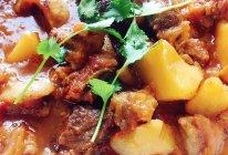 新手必学——西红柿土豆炖牛腩的做法