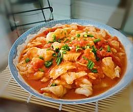 茄汁鱼片的做法