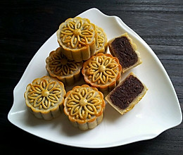 广式豆沙月饼~附炒豆沙馅的做法