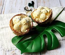 椰子冰激凌的做法