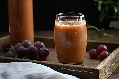 鲜榨葡萄汁(附正确清洗葡萄)