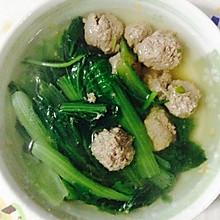 牛肉汆丸子汤