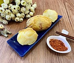 #餐桌上的春日限定#简单三步微波炉烤白薯的做法
