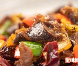 干锅麻香鸡胗的做法