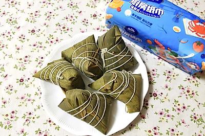 红枣小米粽