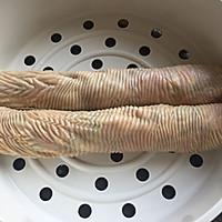豆皮糯米肉卷#春天不减肥,夏天肉堆堆#的做法图解8